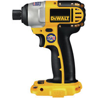 DEWALT 18V Cordless 1/4 in. Impact Driver DC825BR Reconditioned - Bare Tool