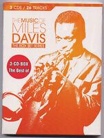 MILES DAVIS The Music Of . Alemania 3-CD set nuevo/sellado