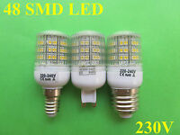 G9/E14/E27 48 SMD LED Warm White/Cool White Bulb Lamp 230V 2-2.5W with covering