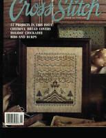 FOR THE LOVE OF CROSS STITCH MAGAZINE JANUARY 1991 HOSANNA SAMPLER COVER DESIGN