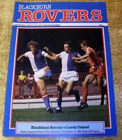 1983/84 DIVISION TWO - BLACKBURN ROVERS v LEEDS UNITED
