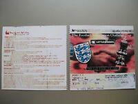 1997 F.A. Cup Final Ticket Chelsea v Middlesbrough Mint condition