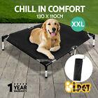 iPET Pet Bed Trampoline Dog Cat Puppy Hammock Canvas Extra Large 130X110cm