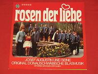 Josef Augustin, Donauschwäbische Blasmusik - LP  Rosen der Liebe / Telefunken