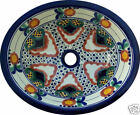 M 166 Mexican Ceramic sink Bathroom wash basin 17