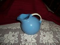 Hall China ROYAL ROSE Large Tilted Water Pitcher