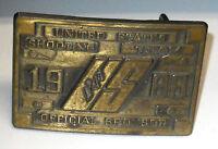 1988 Seoul Korea Olympic U.S. Shooting Team Official Sponsor Belt Buckle