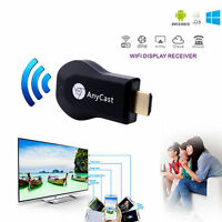 WiFi 1080P Full-HD HDMI TV Stick AnyCast DLNA Wireless Chromecast Airplay Dongle