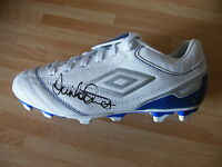 DENNIS MORTIMER GENUINE HAND SIGNED AUTOGRAPH ASTON VILLA FOOTBALL BOOT COA
