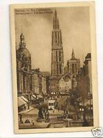 Anvers Cathedrale Postcard Belgium 115a