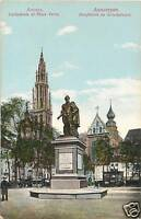 Anvers Cathedrale & Place Verte Postcard Belgium 115a
