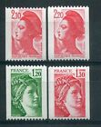 FRANCE - LOT timbres types ROULETTE, neufs**