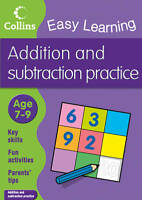 Easy Learning: Addition & Subtraction Ages 7-9 by Collins Easy Learning FREE P&P
