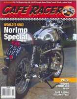 CAFE RACER USA Magazine No.17 O/November 2011(NEW COPY)