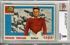 1955 Topps All American #42 Eddie Tryon BVG 8 NM-MT