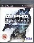 PS3 PS 3 Alpha protocol