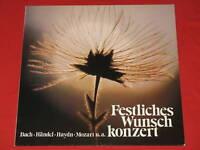 Bach Händel Haydn Brahms ua - LP Karl Forster, Tilegant