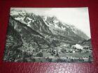 Cartolina Courmayeur - Panorama di Entreves e Palud '59