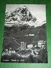 Cartolina Cervinia - Breuil - Scorcio panoramico 1955
