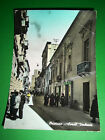 Cartolina Oristano - Corso Umberto 1955 ca