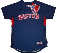 Boston Red Sox Majestic Youth Authentic Cool Base Batting Practice Jersey-NWT