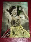 Cartolina Costumi popolari Liguri - Ragazza 1955 ca