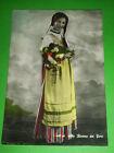 Cartolina Costumi Riviera dei Fiori - Ragazza 1955 ca