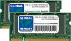 1gb (2x 512mb) DDR 266mhz Pc2100 200 pines SODIMM Kit de Memoria RAM para