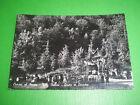 Cartolina Cuasso al Monte - Villa Helios - Grotta di Lourdes 1950 ca
