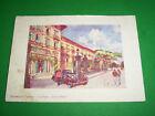 Cartolina Montecatini Terme - La Pace Grand Hotel 1938