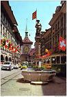 Suisse - Berne - Fontaine de l'Archer et Tour de l'Horloge - 1979