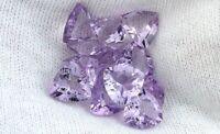 ONE 8mm Trillion Trilliant Triangle Amethyst Gem Stone Gemstone Natural