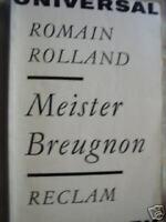Romain Rolland  Meister Breugnon ...