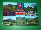 Cartolina Brusson ( Valle d' Aosta ) - Vedute diverse 1965 ca