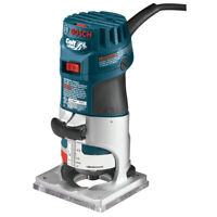 Bosch 1 HP 5.6 Amp Colt Electronic Variable-Speed Palm Router PR20EVS New