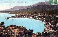 06 Menton - Vue Prise de la Frontière - 1913