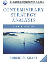 Contemporary Strategy Analysis: Text and Cases by Grant, Robert M.