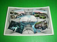 Cartolina Ricordo di Capri - Vedute diverse 1954