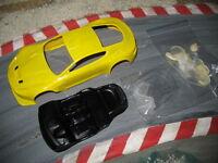 1:24 Aston Martin DBR9 GT3  in weiß ,GFK Kit,mit Anbauteilen