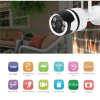 HD 1080P Wifi IP Camera Home Security CCTV Outdoor IR Night Vision 2-way Audio