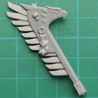 Dark Angels Space Marines Ravenwing Bike Banner Warhammer 40K Bitz 4219