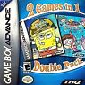 2 Games in 1 Double Pack: SpongeBob SquarePants & Fairly OddParents - GBA Game