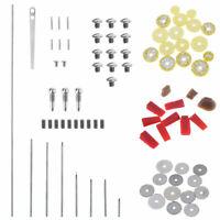 80pcs Flute Repair Parts Tool Maintenance Kit Screws Pin Bolts & Tone Holes Pads