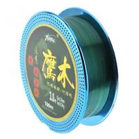 100M Super Strong Nylon Fluorocarbon Coating Fishing Line Durable Lake Sea Lines