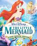 The Little Mermaid (DVD, 2006 2-Disc Set, Platinum Edition) New w/ Slipcover!
