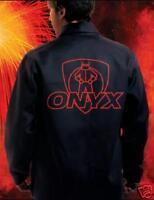 """Tillman ONYX Black 30"""" FR Cotton Welding Jacket 3XL"""