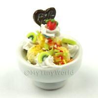 1:12th Ice Cream Sundae Doll House Miniature Food (IB6)