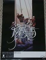The Matches POSTER a band in hope promo tour music