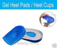 Silicone Gel Cushion Heel Cup/Pads/Shoe Insoles/Inserts