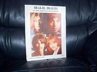 THE BEATLES GENUINE ORIGINAL SHEET MUSIC  OB-LA-DI,OB-LA-DA NORTHERN SONGS 1967